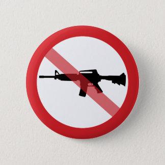 Bóton Redondo 5.08cm Espingardas de assalto da proibição - nenhuma