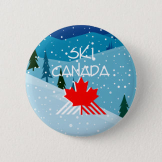 Bóton Redondo 5.08cm Esqui SUPERIOR Canadá