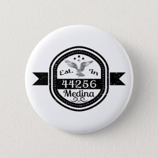 Bóton Redondo 5.08cm Estabelecido em 44256 Medina