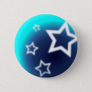 Bóton Redondo 5.08cm Estrela brilhante
