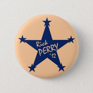 Bóton Redondo 5.08cm Estrelas de Rick Perry