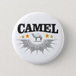 Bóton Redondo 5.08cm estrelas do camelo