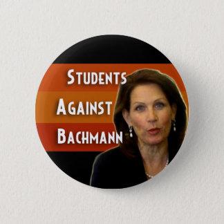Bóton Redondo 5.08cm Estudantes contra o botão da campanha de Bachmann