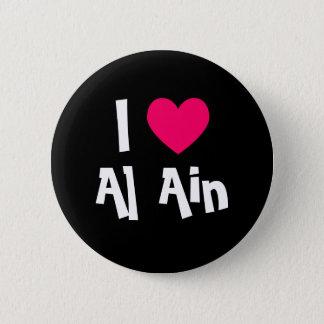 Bóton Redondo 5.08cm Eu amo Al Ain