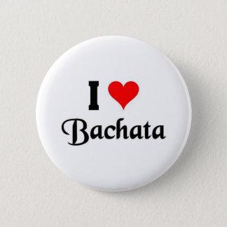 Bóton Redondo 5.08cm eu amo Bachata