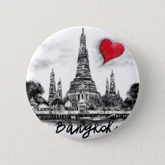 Bóton Redondo 5.08cm Eu amo Banguecoque