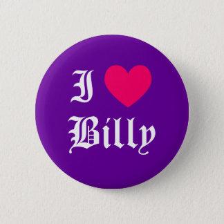 Bóton Redondo 5.08cm Eu amo Billy