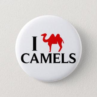 Bóton Redondo 5.08cm Eu amo camelos