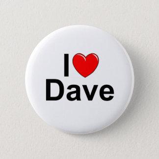Bóton Redondo 5.08cm Eu amo (coração) Dave