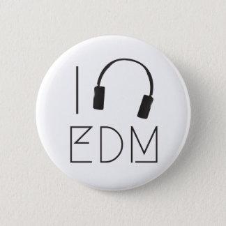 Bóton Redondo 5.08cm Eu amo EDM