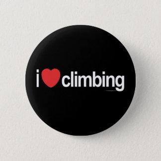 Bóton Redondo 5.08cm Eu amo escalar