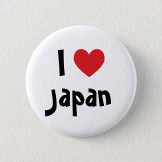 Bóton Redondo 5.08cm Eu amo Japão