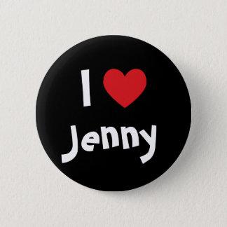 Bóton Redondo 5.08cm Eu amo Jenny