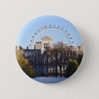 Bóton Redondo 5.08cm Eu amo Londres!