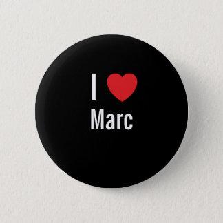 Bóton Redondo 5.08cm Eu amo Marc