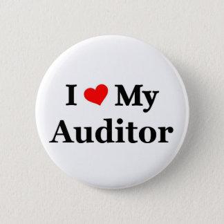 Bóton Redondo 5.08cm Eu amo meu auditor