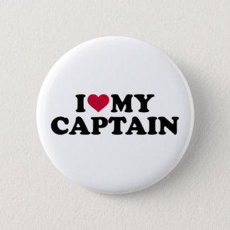 Bóton Redondo 5.08cm Eu amo meu capitão