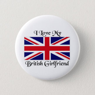 Bóton Redondo 5.08cm Eu amo meu namorada britânico