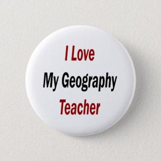 Bóton Redondo 5.08cm Eu amo meu professor da geografia
