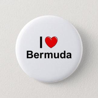 Bóton Redondo 5.08cm Eu amo o coração Bermuda