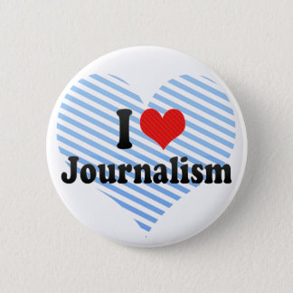 Bóton Redondo 5.08cm Eu amo o jornalismo