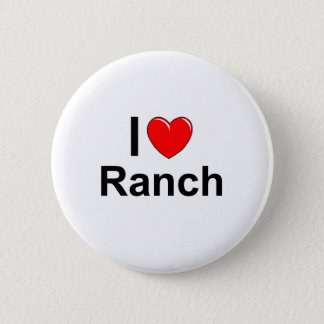 Bóton Redondo 5.08cm Eu amo o rancho do coração