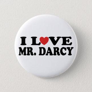 Bóton Redondo 5.08cm Eu amo o Sr. Darcy