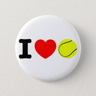 Bóton Redondo 5.08cm Eu amo o tênis