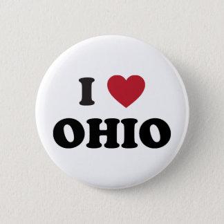 Bóton Redondo 5.08cm Eu amo Ohio