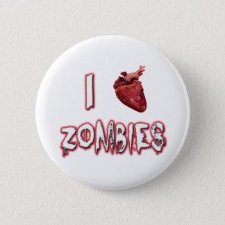 Bóton Redondo 5.08cm Eu amo zombis