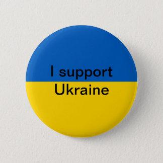 Bóton Redondo 5.08cm Eu apoio Ucrânia