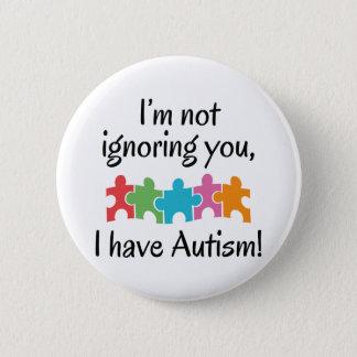 Bóton Redondo 5.08cm Eu estou com o autismo