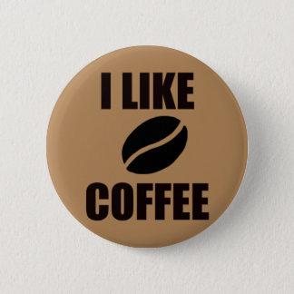 Bóton Redondo 5.08cm Eu gosto do café