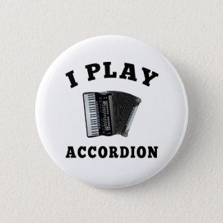 Bóton Redondo 5.08cm Eu jogo o acordeão