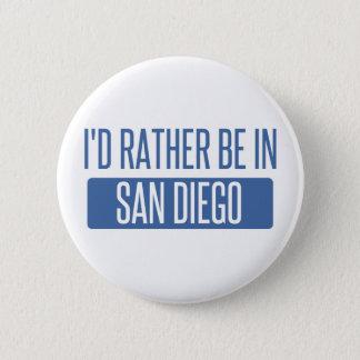 Bóton Redondo 5.08cm Eu preferencialmente estaria em San Diego