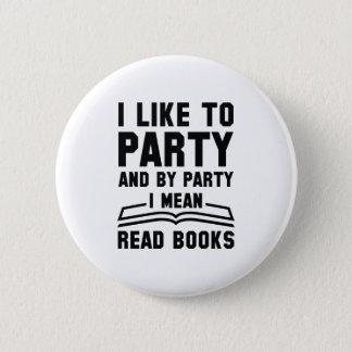 Bóton Redondo 5.08cm Eu significo livros lidos