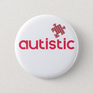 Bóton Redondo 5.08cm Eu sou autístico