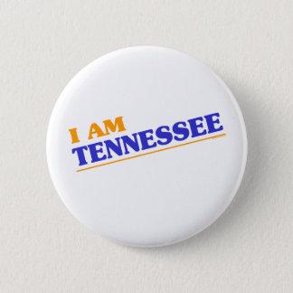 Bóton Redondo 5.08cm Eu sou camisas de Tennessee