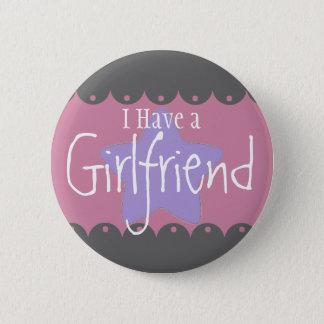 """Bóton Redondo 5.08cm """"Eu tenho um namorada"""", botão redondo da polegada"""