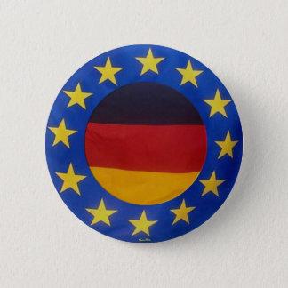 Bóton Redondo 5.08cm Euro 2008 - Botão de Alemanha