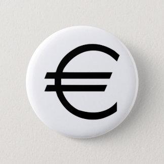 Bóton Redondo 5.08cm Euro- - dinheiro