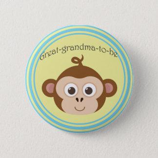Bóton Redondo 5.08cm Excelente-avó-à-está o botão