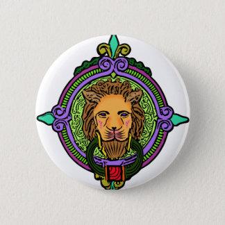 Bóton Redondo 5.08cm Exclusive da arte do leão