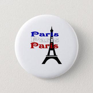 Bóton Redondo 5.08cm Excursão Eiffel do La