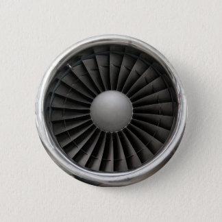 Bóton Redondo 5.08cm Fã da turbina do motor de jato