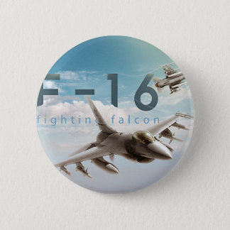 Bóton Redondo 5.08cm Falcão F-16 de combate