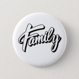Bóton Redondo 5.08cm Family nação Button 5,7cm