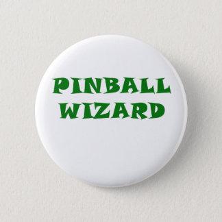 Bóton Redondo 5.08cm Feiticeiro do Pinball