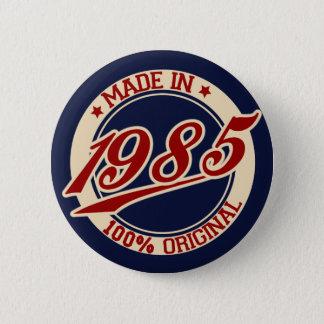 Bóton Redondo 5.08cm Feito em 1985