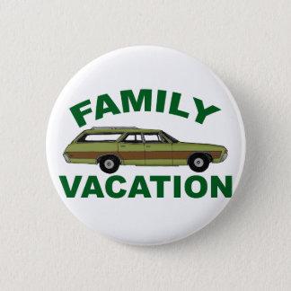 Bóton Redondo 5.08cm férias em família 80s
